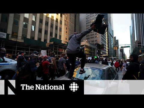 Curfew emboldens protesters in New York City