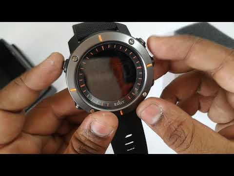 Eddy Hager  800-BK Digital  Sports  Watch - For Men