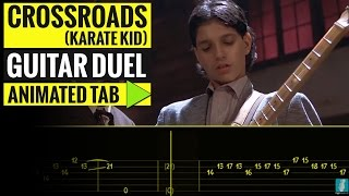 CROSSROADS - GUITAR DUEL - Animated Tab