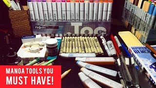 Manga | Comic Tools And Art Supplies YOU SHOULD HAVE