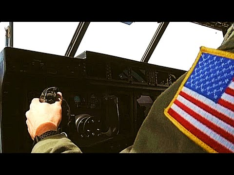 Hurricane Hunters Cockpit: USAF Weather Reconnaissance Pilots Fly Into The Eye Of A Hurricane