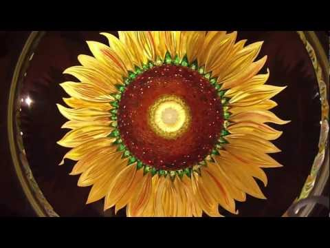 Sunflower - Christopher Ries Glass Sculptor and Artist