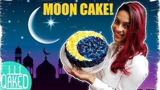 Crescent Moon Cake | Multicoloured Buttercream Rosettes | Eid/Ramadan Party Ideas | DIY & How to