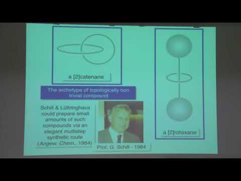Nobel Laureates in chemistry Stoddart, Sauvage & Feringa – Nobel Lectures in Uppsala 2016