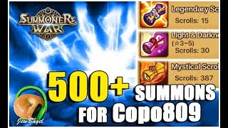 SUMMONERS WAR : 500+ summons for Copo809
