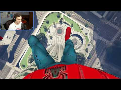 SPIDERMAN vs GREEN GOBLIN ! - Grand Theft Auto 5 - MODY 21