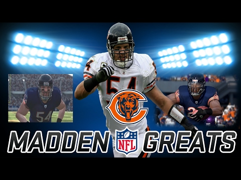 Greatest Players in Madden History CFM | Chicago Bears | Brian Urlacher + Peanut Tillman