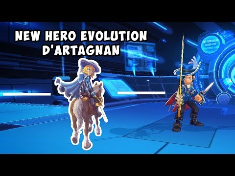 REVIEW NEW HERO EVOLUTION D'ARTAGNAN - LOST SAGA INDONESIA