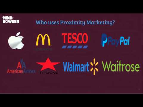 Learning about Proximity Marketing