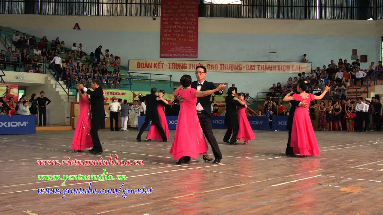 Vũ Điệu Vienese Valse CLB khiêu vũ Thiên Thanh Hải Phòng