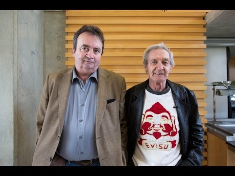 Gerry Conlon and Paddy Hill speaking at the University of Limerick, School of Law