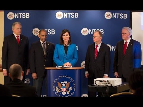NTSB Holds Press Conference to Announce its 2014 Most Wanted List of Safety Priorities.