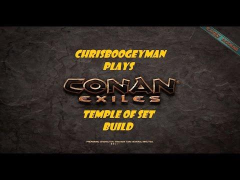 Conan Exiles Temple of Set Build