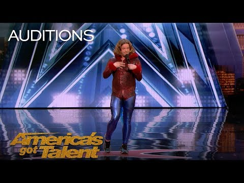Alex Hooper: Professional Roaster Insults The AGT Judges - America's Got Talent 2018