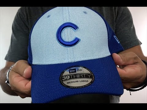 908fc66f1a238 Cubs  2018 FATHERS DAY FLEX  Sky-Royal Hat by New Era - YouTube