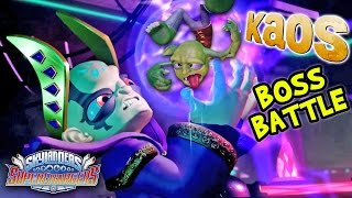 Skylanders SuperChargers EMPEROR KAOS Boss Battle!  (Crush of Kaos: Chapter 50)