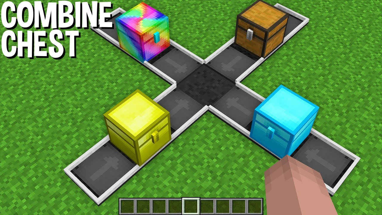 WHAT if COMBINE all RAREST CHEST in NEW SECRET CHEST in Minecraft ?