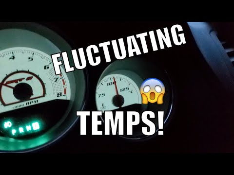 Fluctuating Temperature Gauge Quick Fix on a Dodge Challenger