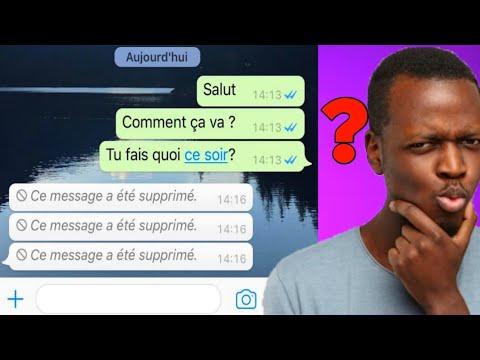 Download Comment lire un message supprimé sur whatsapp, facile