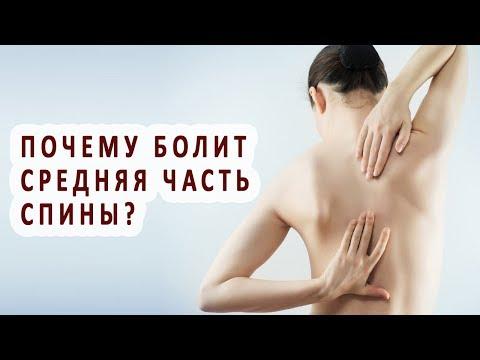 Болит средняя часть спины