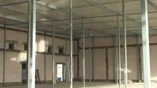 Budowa pieczarkarni z bloczków SILKA