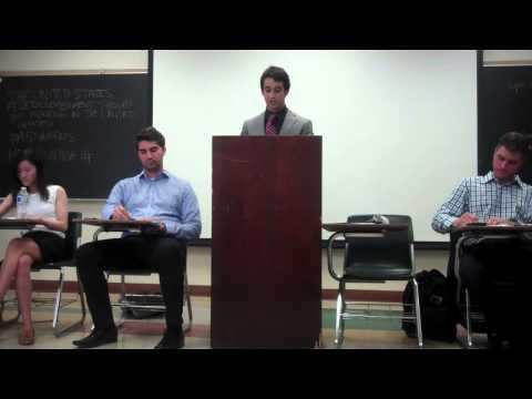 UCLA DEBATE UNION  Policy Debate # 3 2014 Fracking