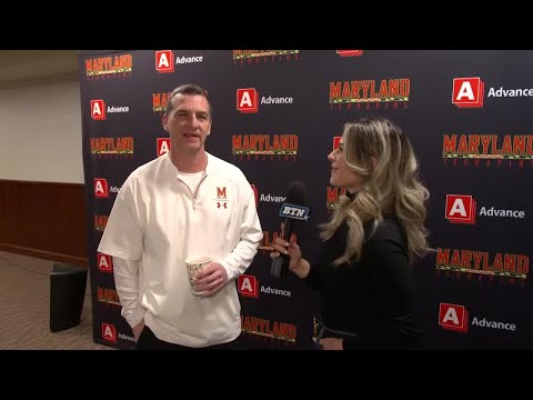 Turgeon, Fernando Talk NCAA Tourney Selection | Maryland Terrapins | Big Ten Basketball