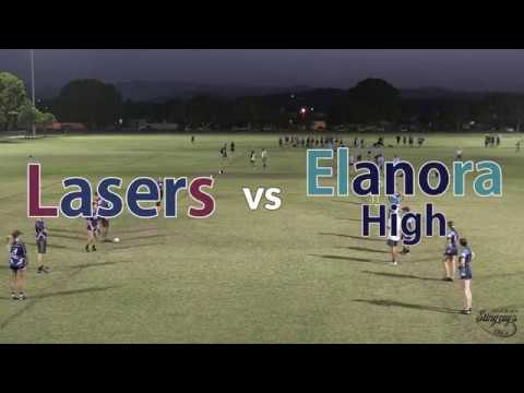 Round 14 - Lasers vs Elanora High - Division 3/4 Mixed