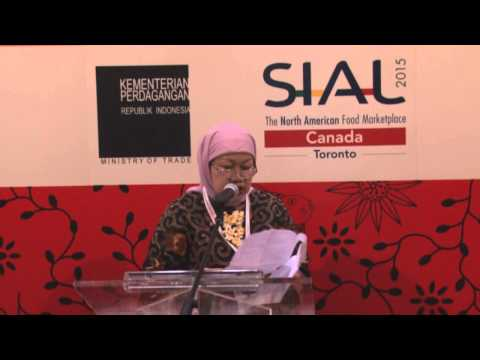 "KJRI Toronto: Press Conference Indonesian Pavilion Trade Show ""SIAL 2015"""