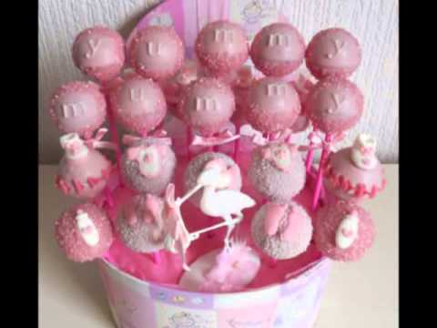 Baby Shower Cake Pops Youtube