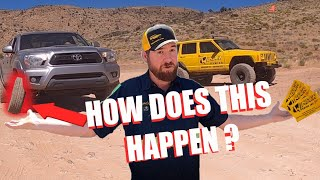**STRANGE trail repair on this Toyota Tacoma**