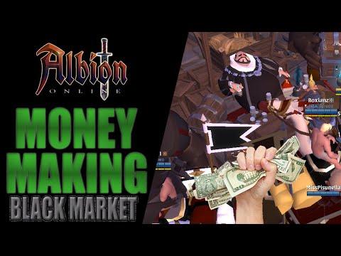 Albion Online   Money Making -  Black Market (Queen Update 2020)