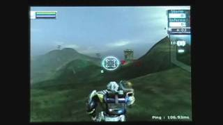 Tribes: Aerial Assault. Gameplay video. 7-1-09. Part 2.
