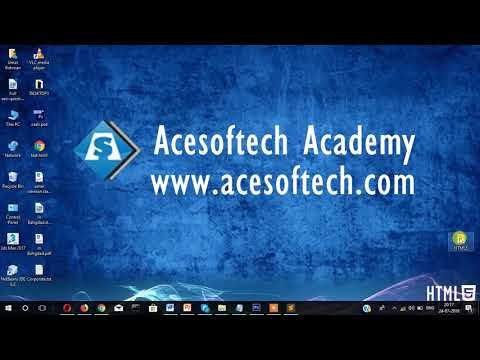 2. How To Insert Image In HTML Document - Acesoftech Academy