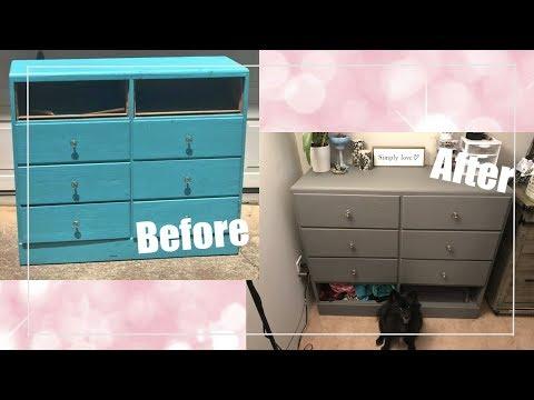 Furniture Transformation | DIY dresser makeover!
