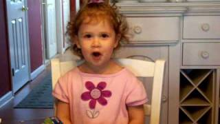You Are So Beautiful - Little Girl Singing