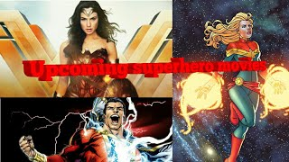 ALL UPCOMING SUPERHERO MOVIES|MARVEL|DC|WITH RELEASE DATES|