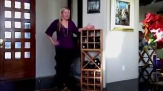 Curvy Cube Wine Rack Installation Video