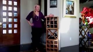 Curvy Cube Wine Rack Installation Video