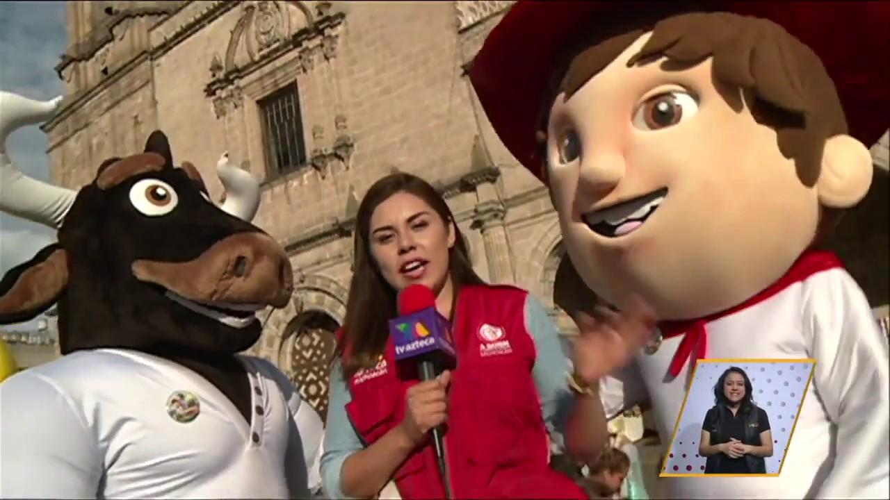Tv azteca michoac n realiz la caravana juguet n