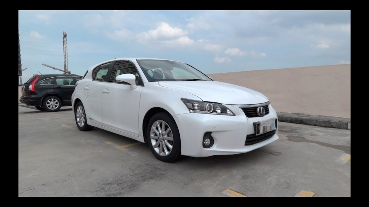 Lexus Of Columbia >> 2011 Lexus CT 200h Start-Up and Full Vehicle Tour - YouTube