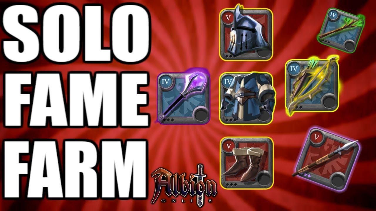 Albion Online I SOLO Fame Farming Gear