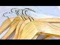 Are they junk? AmazonBasics wood suits clothes hangers (natural finish) 30 pack review