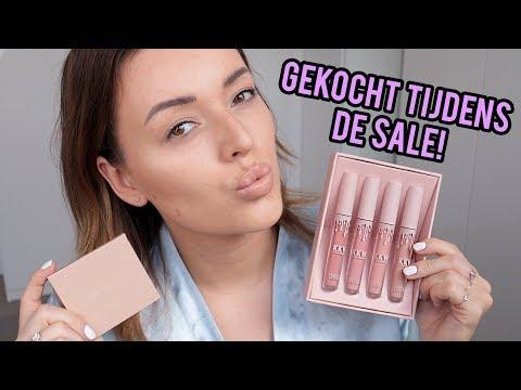KKW kim Kardashian West make-up unboxen en testen | Beautygloss