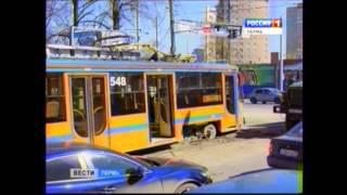 Битва трамваев в Перми