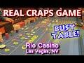 GUY COLORS-UP $2,500! - Live Craps Game #42 - Rio Casino ...
