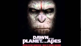 Dawn of The Planet of The Apes Soundtrack - 10. Monkey See, Monkey Coup