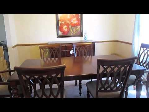 pics of dining room furniture | New dining room furniture! - YouTube