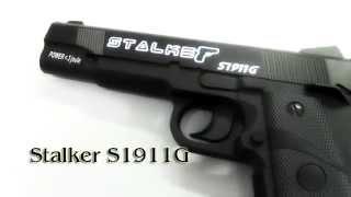Пневматический пистолет Stalker S1911G (Colt 1911) Купить popadiv10.ru(Видео обзор на пневматический пистолет Stalker S1911G (Colt 1911) купить который можно в нашем интернет магазине popadiv10.ru., 2015-09-08T12:49:25.000Z)