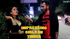 How to impress girls on tinder|| Girls using dating apps|| Best pickup line for girls